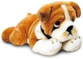 Knuffel bulldog 90 cm