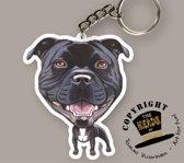 Sleutelhanger Hond Staffordshire Bull Terrier