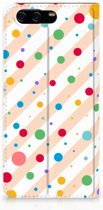 Huawei P10 Standcase Hoesje Design Dots