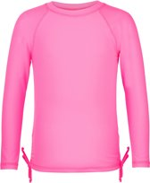 Snapper Rock UV werend Zwemshirt Kinderen lange mouwen - Neon Roze - Maat 104-110
