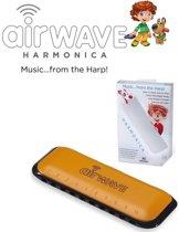 "SUZUKI - Mondharmonica AW1-Oranje  ""Airwave"" Pop Rock Blues"