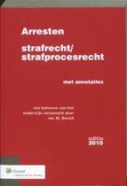 Arresten strafrecht en strafprocesrecht