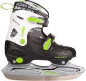 Nijdam 3010 Junior IJshockeyschaats - Verstelbaar - Hardboot - Maat 34-37