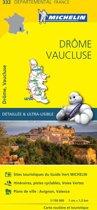 Drome / vaucluse 11332 carte ' local ' ( France ) michelin kaart