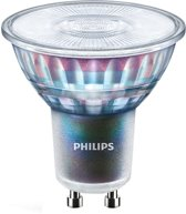 Philips MASTER LED ExpertColor 5.5-50W GU10 927 36D 5.5W GU10 A+ Warm wit LED-lamp