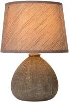 Lucide RAMZI Tafellamp - E14 - Bruin