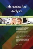 Information and Analytics a Complete Guide - 2019 Edition