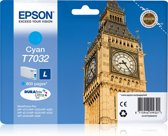 Epson T7032 - Inktcartridge / Cyaan