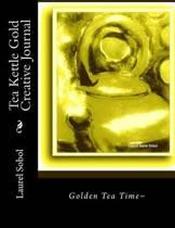 Tea Kettle Gold Creative Journal
