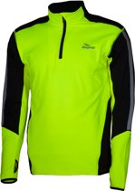 Rogelli Grafton Sportshirt - Maat L  - Mannen - zwart/groen