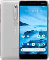 Nokia 6.1 - 32GB - Wit/Koper