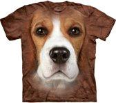Honden T-shirt Beagle voor volwassenen L