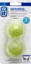 Catit Senses Motion Activated Illuminated Ball - 2 stuks
