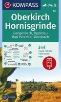 Kompass WK877 Oberkirch, Hornisgrinde, Gengenbach, Oppenau, Bad Peterstal-Griesbach