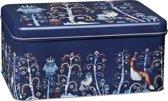 Iittala Taika blauw metalen blik 280x178x130mm