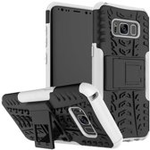 Samsung Galaxy S8 Plus Schokbestendige Back Cover Wit