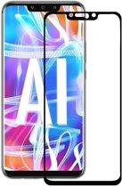 Huawei Mate 20 Lite Screen Protector Glazen Gehard   Full Screen Cover Volledig Beeld   Tempered Glass - van iCall