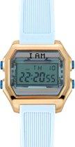 I AM THE WATCH - Horloge - 40mm - Rosé/blauw - IAM-KIT02
