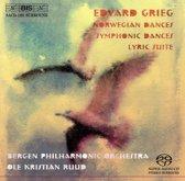 Grieg: Norwegian Dances, Symphonic Dances, Lyric Suite - Ruud -SACD- (Hybride/Stereo/5.1)