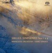 Sibelius Symphonies Nos 1 & 4