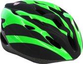 Salutoni volwassene fiets/skate helm groen 55-59 cm