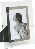 Deknudt Frames fotokader glas met zilveren bies
