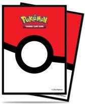 Pokemon Standard Sleeves Pokeball (65 Stuks)
