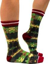 Sock My Camouflage - Damessok - Katoen - geprinte sok