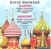 Glaszunov, Kabalevsky: Violin Concertos