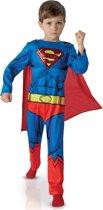 Superman™ stripboek kostuum voor kinderen Klassiek Verkleedkleding 122 128