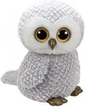 Pluche knuffel Ty Beanie uil Owlette 42 cm - knuffeldier / knuffels