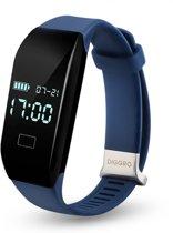 QY Smart Band activity tracker met hartslagmeter – sporthorloge - stappenteller - blauw
