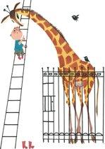 KEK Amsterdam Giant Giraffe - Fotobehang - Full Color