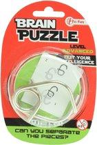 Toi-toys Hersenkraker Brain Puzzle Advanced Zilver