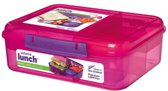 Sistema Lunch Bento Lunchbox 1,65L roze-paars