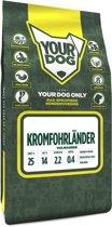 Yourdog kromfohrlã?nder hondenvoer volwassen 3 kg