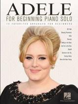 Adele For Beginning Piano Solo
