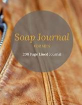 Soap Journal For Men
