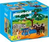 Playmobil Afrikaanse Buffel met Zebra - 4828