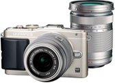 Olympus PEN E-PL6 + 14-42mm 40-150mm - Systeemcamera - Zilver