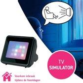 Safe Alarm Tv Imitator Lichteffecten – 7x9cm | Televisie Lichten Effecten Stimulator | Anti-Inbraak Preventie