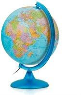 globe Night & Day 25cm met kunststof voet en verlichting