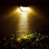 Solar ledlamp Druppel - Tuinverlichting - Wandlamp | Solar buitenverlichting wit licht