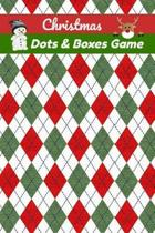 Christmas Dots And Boxes Game