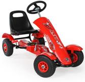 Go Kart Skelter Trapauto rood 401032