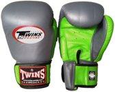 Twins BGVL-3 Boxing Gloves Grijs / Groen-12 oz.
