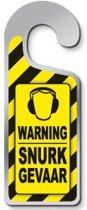 Warning Snurkgevaar Deurhanger Metaal
