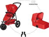 Koelstra - Mambo Daily Combi Kinderwagen - Rood
