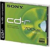 Sony CD-R 80 Min.700 MB 48X Jewel Case 10-Pack