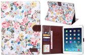 iPad Air 2 - hoes, cover, case - PU leder - stof - Flower